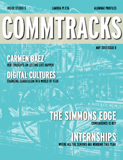 Cover art for the May 2013 Issue of CommTracks magazine