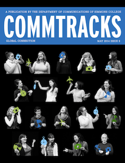 Cover art for the May 2014 Issue of CommTracks magazine