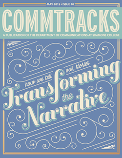 Cover art for the May 2015 Issue of CommTracks magazine