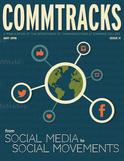 Cover art for the May 2016 Issue of CommTracks magazine