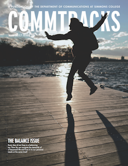 Cover art for the May 2017 Issue of CommTracks magazine