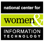 National Center for Women & Information Technology Logo