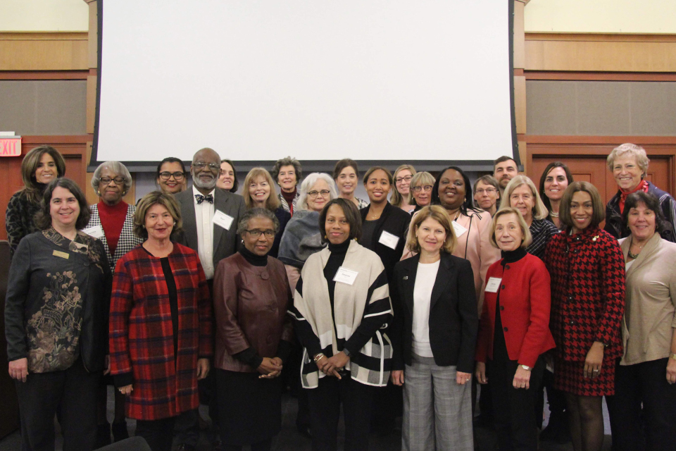 Group photo of Dean's Advisory Council