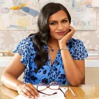Headshot of Mindy Kaling