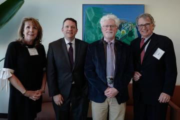 Dean Judy Beal; Sean Clarke, New York University; Peter Buerhaus, Montana State University; and Professor Robert Coulam
