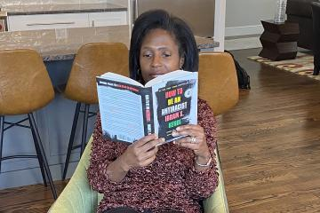 "Lynn Perry Wooten reading Ibram X. Kendi's ""How to Be an Antiracist"""