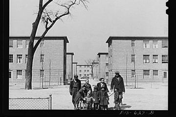 Chicago, Illinois. Ida B. Wells Housing Project. 1942